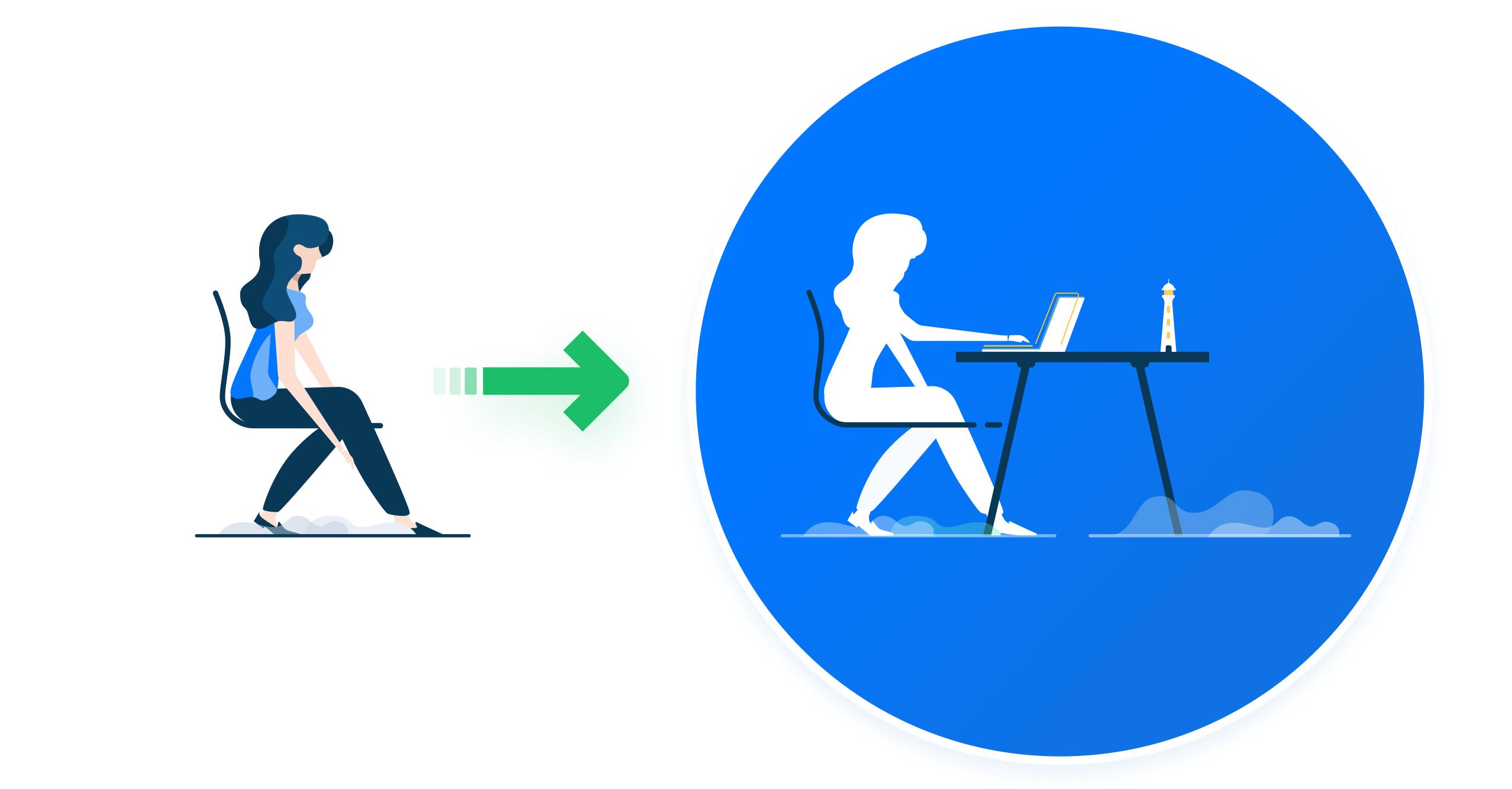 Онбординг помогает вовлечь нового сотрудника в рабочий процесс